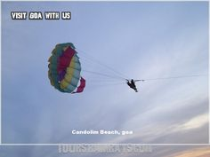Tourist Attraction India: Candolim Beach Goa