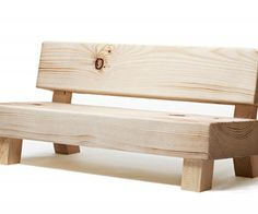 patterns for wooden benches | Softwood Bench by Foursome for Moroso | materialicious