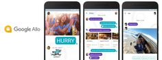 Say Hello On Google Allo - A Simple & Smart Messaging App