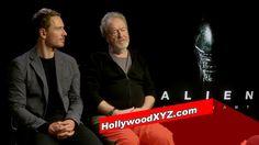 Michael Fassbender & Ridley Scott First Alien Covenant interview