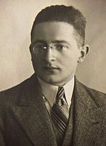 """Marian Rejewski was a Polish mathematician and cryptologist who in 1932 solved the plugboard-equipped Enigma machine, the main cipher device used by Germany. The success of Rejewski and his colleagues Jerzy Różycki and Henryk Zygalski jump-started British reading of Enigma in World War II; the intelligence so gained, code-named """"Ultra"""", contributed, perhaps decisively, to the defeat of Nazi Germany."""
