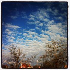 Clouds in Newport