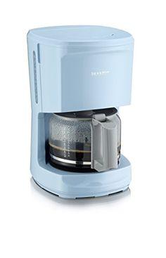 Severin KA 9725 - Cafetera, color azul celeste y gris Sev…
