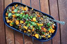 10.22.13 Wild Rice Pilaf with Roasted Butternut Squash — Wisconsin from Scratch