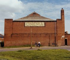 Tivoli Cinema, in Sissons Lane, summer 1976. The site had its last screening in 1960, whereupon it became a bingo hall