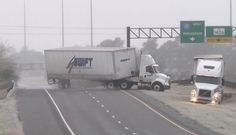 HD Tractor-trailer wreck and Texas icy slides caught on camera - January...