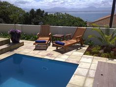 Aquamarine Guest House Mossel Bay - Aquamarine Guest House offers guests luxury 4 Star accommodation in the centre of Mossel Bay.  A delicious full English breakfast is served which guests can enjoy on main patio, at the poolside or in the ... #weekendgetaways #mosselbay #southafrica