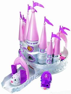 Cepia Zhu Zhu Princess Castle by Cepia LLC. $40.99. Hamsters Sold Separately. This Add on playset piece designed like a castle gives your Zhu Zhu Pet toy Hamster a chance to live like royalty.  Hamsters NOT included, sold separately.  Age 4+