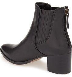 Halogen®  Bailey  Pointy Toe Block Heel Bootie (Women)  e84add30f97a
