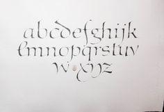 Civilité alphabet. 2017