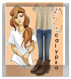 """""""Calypso #2"""" by slay-miserables ❤ liked on Polyvore featuring art, percyjackson and calypso"""