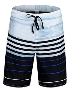 5f303d164ebad ELETOP Men's Swim Trunks Quick Dry Board Shorts With Mesh Lining and  Pockets YN Series Review