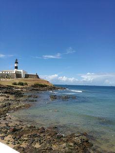 Salvador, Beach, Water, Outdoor, Bahia, Savior, Gripe Water, Outdoors, The Beach