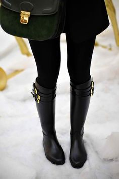 Love these boots! Weatherproof and chic