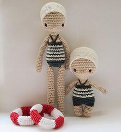 { Ready for the Olympics!! 🏊🏻🚴🏻🏋🏻🏅} #Olympics2016 #Rio2016 #Sports #Olympians #Crochet #CrochetPattern #Amigurumi #Doll #AmourFou #Esther @etsy