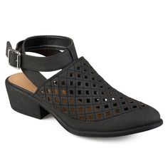 Journee Collection Shilo Women's Wrap Shoes, Size: 8.5, Black