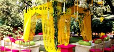 Abhinav Bhagat Events Delhi - Review & Info - Wed Me Good Cascading Flowers, Wedding Flowers, Indian Wedding Decorations, Flower Decorations, Big Indian Wedding, Online Wedding Planner, Wedding Sutra, Wedding Stage, Wedding Vendors