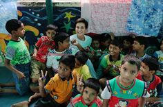 Rose of Tralee Maria visits orphans and street kids in Kolkata with the HOPE Foundation www. Orphan, Kolkata, Foundation, Street, Rose, Kids, Toddlers, Boys