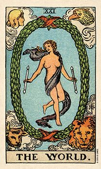 What Are Tarot Cards? Made up of no less than seventy-eight cards, each deck of Tarot cards are all the same. Tarot cards come in all sizes with all types of artwork on both the front and back, some even make their own Tarot cards The World Tarot Card, What Are Tarot Cards, Tarot Waite, Rider Waite Tarot Cards, Tarot Card Tattoo, Tarot Card Art, Tarot Card Meanings, Oracle Tarot, Major Arcana