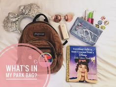 What's In My Park Bag? - Disney College Program - Adventures In Adulting