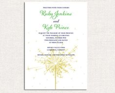 Sparkler invites! 4th of July Wedding?