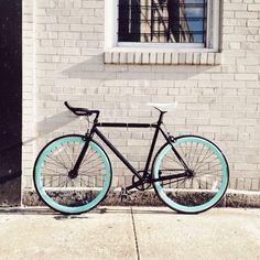 Nice urbancolored bike