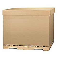 """Office Depot® Brand Gaylord Corrugated Carton Lids, 48"""" x 40"""" x 5"""", Pack Of 5"""