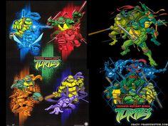 Teenage Mutant Ninja Turtles Cartoon Wallpapers