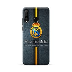 Featuring the Real Madrid team logo with the vertical gold stripes. [ Design ] Real Madrid Team Logo Gold Stripes Huawei Lite Case is specially made for the Huawei Lite Durable case made of po.