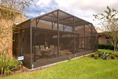 Considering a new pool enclosure? We have been building pool enclosures in Central Florida since Click now to see our work and learn about current specials. Pool Screen Enclosure, Screen Enclosures, Pool Enclosures, Lanai Porch, Screened In Patio, Florida Pool, Florida Style, Aluminum Screen, Pool Maintenance