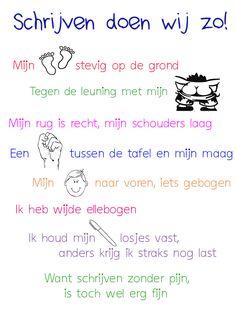 Gedichtje gepikt, beetje aangepast en een super leuke poster voor in de klas…
