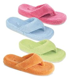 Acorn® Women's Spa Thong Slippers | Sandals