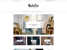 Natalie - A BLOG and SHOP Theme