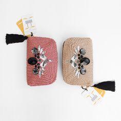 ● Bolsos de cordón de seda   Modelo VALÉRIE   Diseño de OLVIDO MADRID