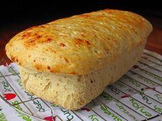Pan aromatico de cebolla y queso