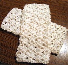 Lace Fingerless Gloves Crochet