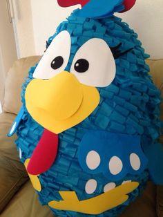 Piñata gallina pintadita