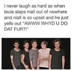 SERIOUSLY I COULDN'T STOP LAUGHING AND IM ALL LIKE AWHHHH NIALL IS SO CUTE I LOVE HIM.