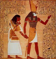 vida simbolica | La mayor parte de la pintura egipcia representa personajes o dioses ...