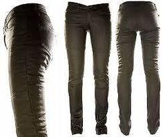 Ladies Draggin Jeans  Slix  Stretch Kevlar Denim Motorcycle Riding Road Black | eBay