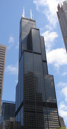 Sears Tower - The tallest and last Chicago sky scraper I visited.