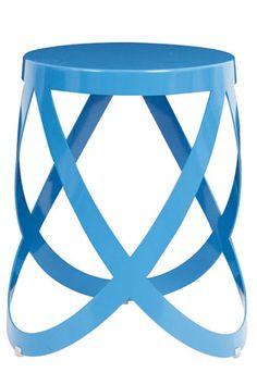 Capellini Ribbon Stool in Blue