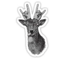 Hipster Deer Sticker