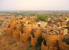 Earthbag Home Castle Plans | jaisalmer-fort-rajasthan