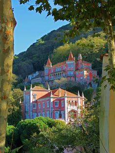 On a Hillside in Sintra, Portugal