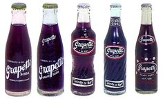 "Grapette Soda! The company was founded in the 1930s in  the small town of Camden, Arkansas ~ this soda is still produced today in the state and available in Wal-Mart exclusively. It was named one of the top ""Flavors of the South"" by Southern Living Magazine."