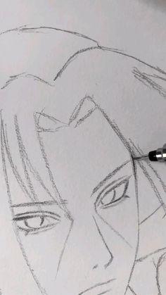 Art Drawings Beautiful, Art Drawings For Kids, Art Drawings Sketches Simple, Pencil Art Drawings, Naruto Art, Naruto Drawings, Whatsapp Videos, Anime Character Drawing, Fanarts Anime