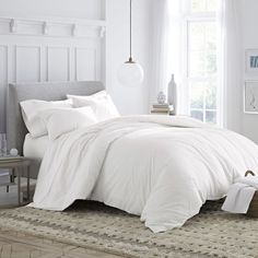 You'll love the Brushed Organic Cotton Reversible Duvet Set at Wayfair - Great Deals on all Bed & Bath products with Free Shipping on most stuff, even the big stuff.