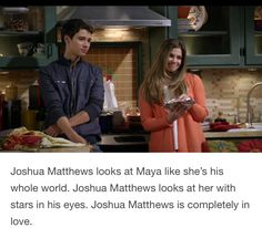 True!!! Both Maya & Josh are so in love ❤️ with eachother now!!! I can tell by Josh's eyes!!!