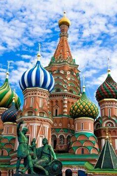 Moscú. Catedral de San Basilio. Torres